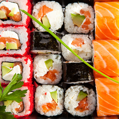 restaurant example image of sushi